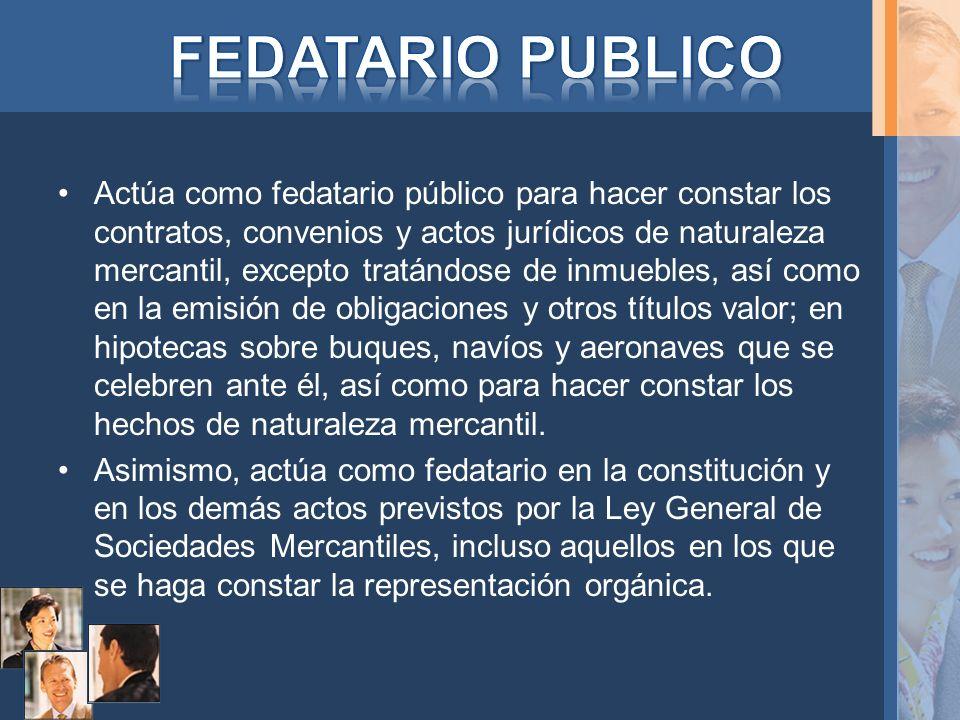 FEDATARIO PUBLICO