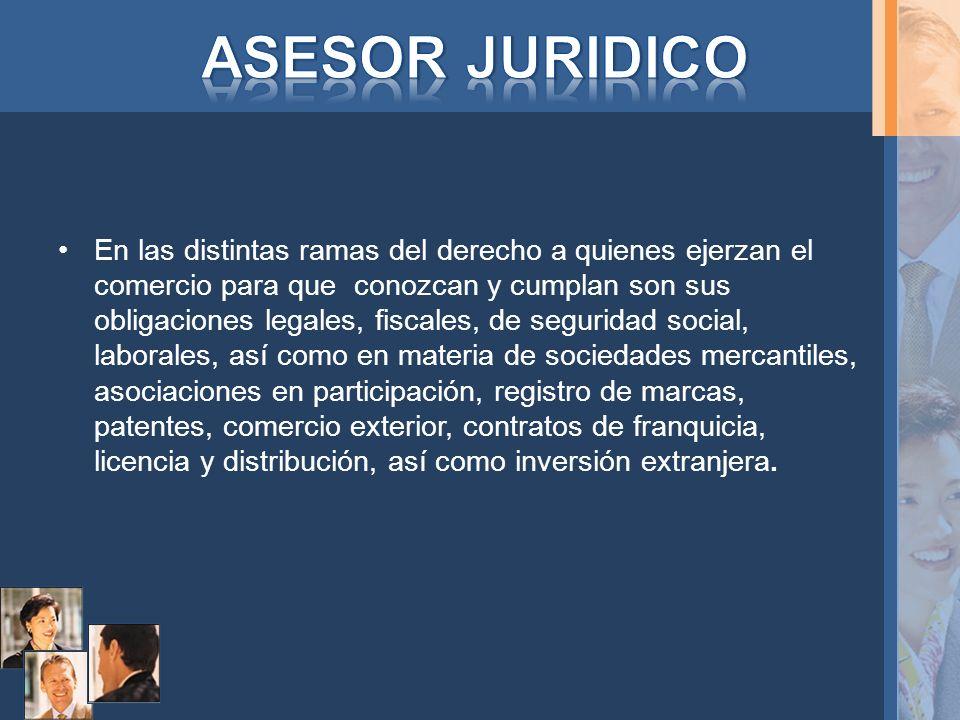 ASESOR JURIDICO