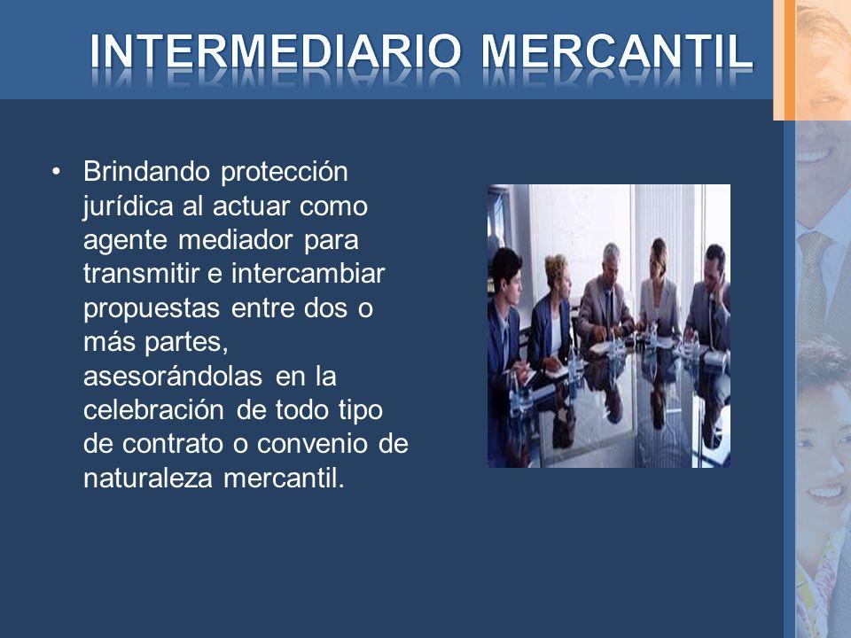 INTERMEDIARIO MERCANTIL