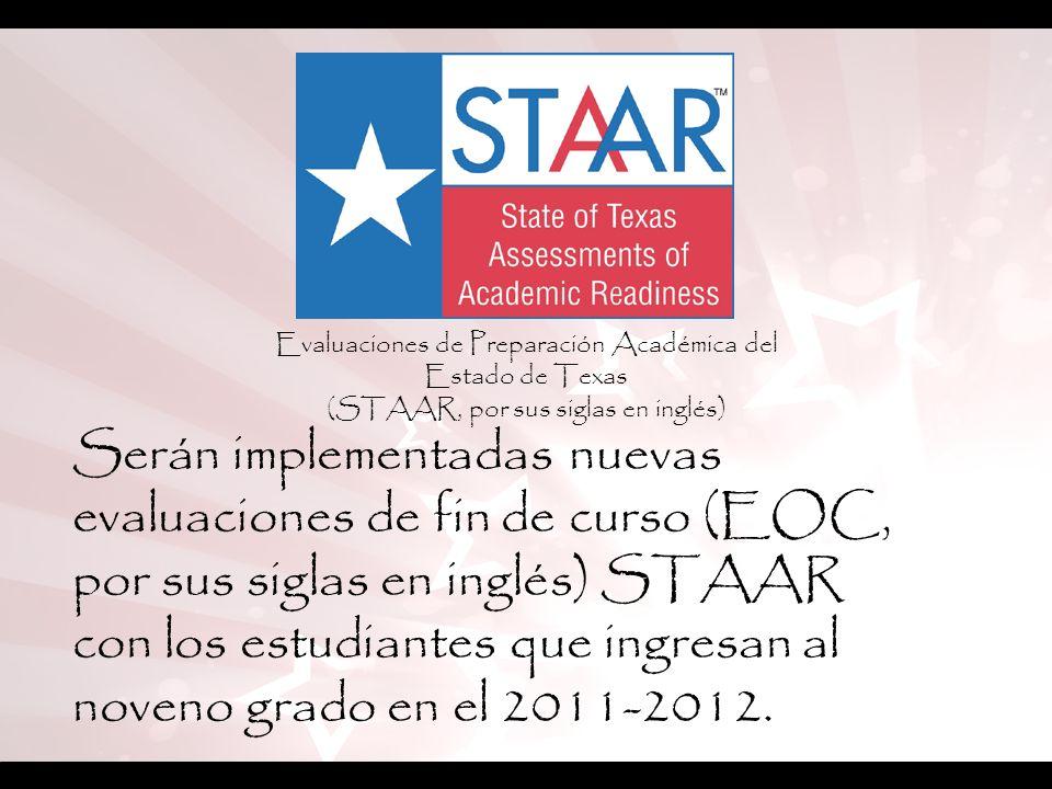 Evaluaciones de Preparación Académica del Estado de Texas