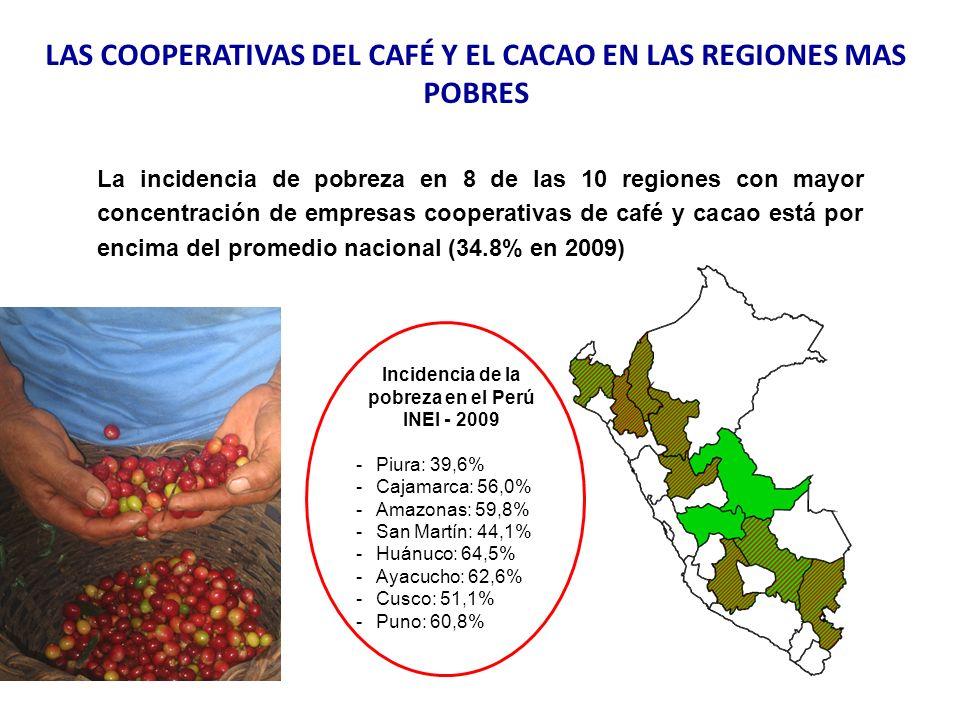 LAS COOPERATIVAS DEL CAFÉ Y EL CACAO EN LAS REGIONES MAS POBRES