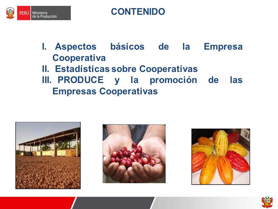 CONTENIDO Aspectos básicos de la Empresa Cooperativa.