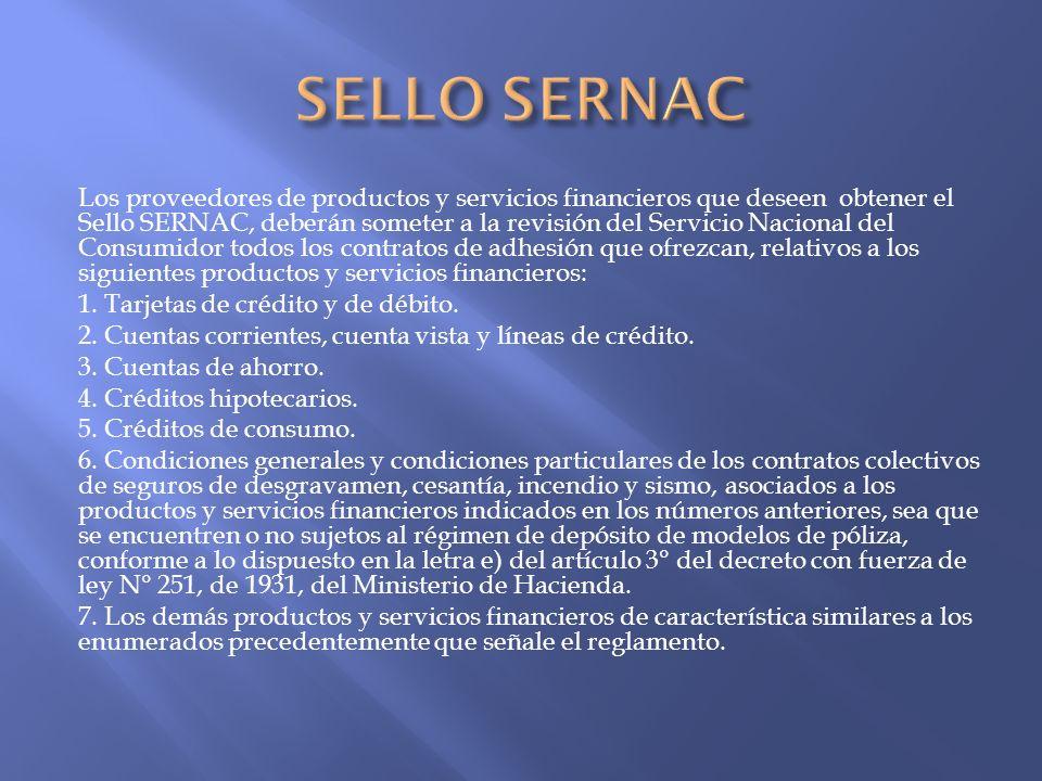 SELLO SERNAC