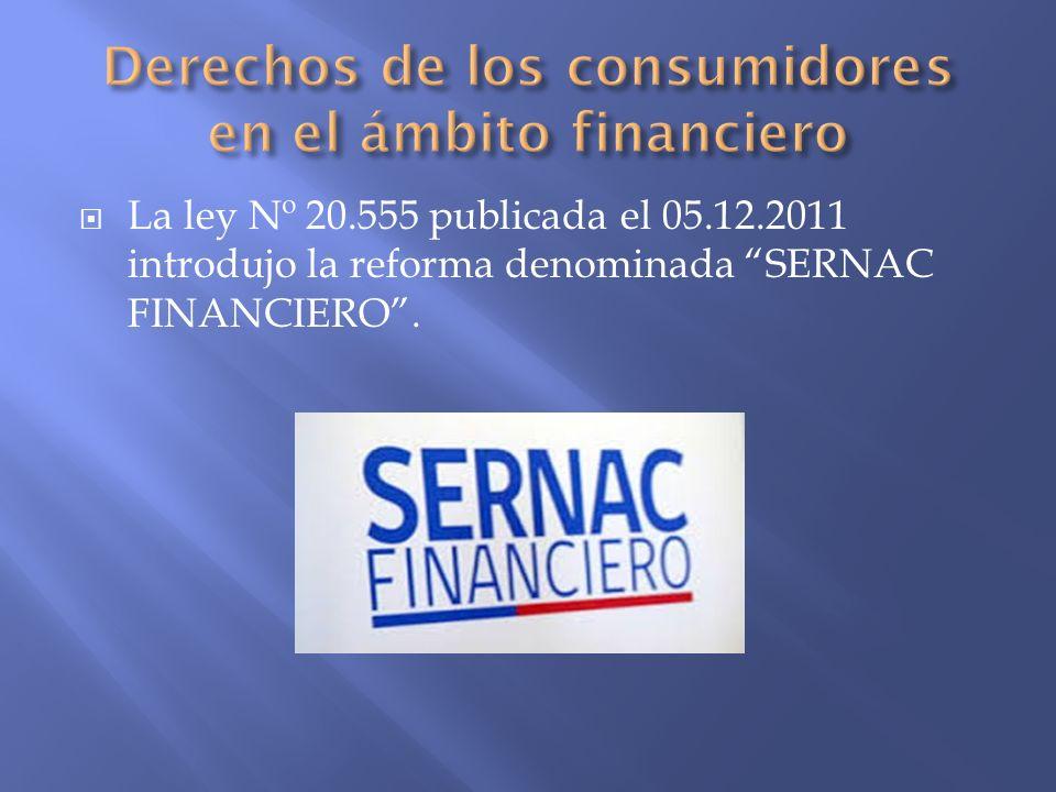 Derechos de los consumidores en el ámbito financiero