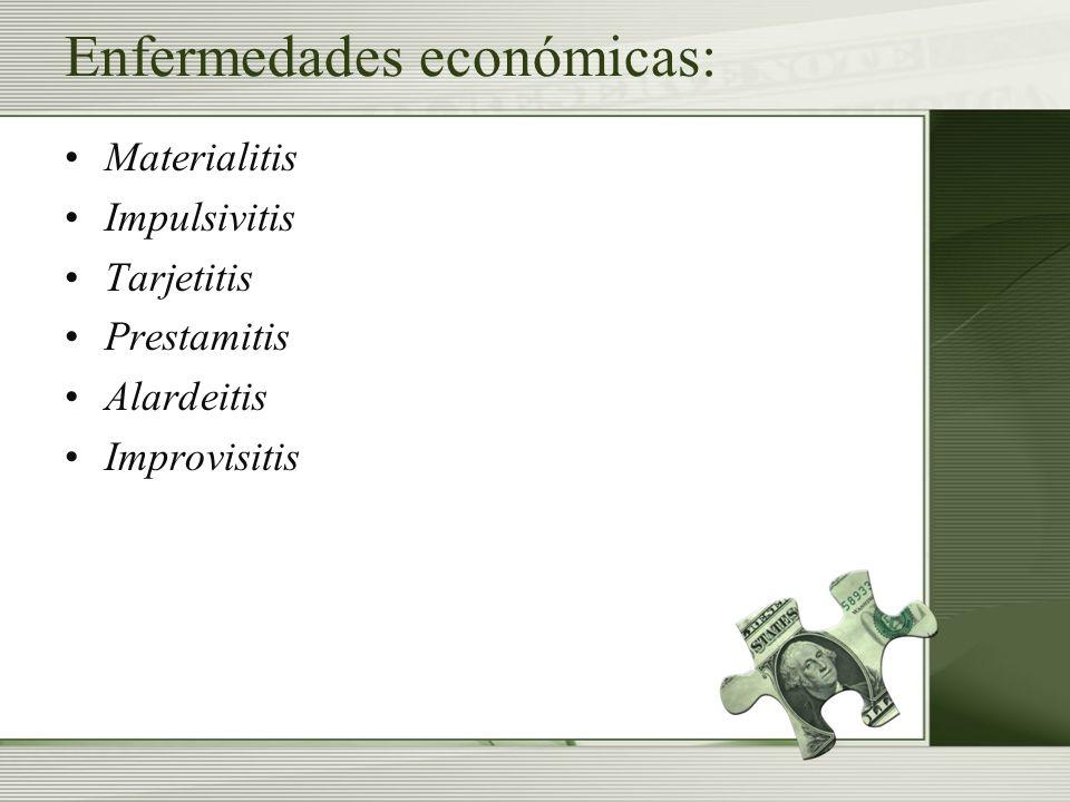 Enfermedades económicas: