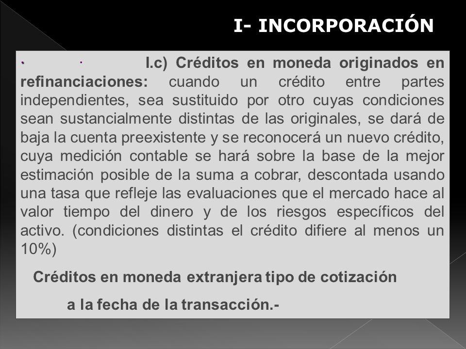 I- INCORPORACIÓN S.