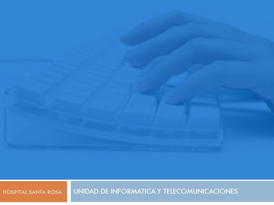 UNIDAD DE INFORMATICA Y TELECOMUNICACIONES