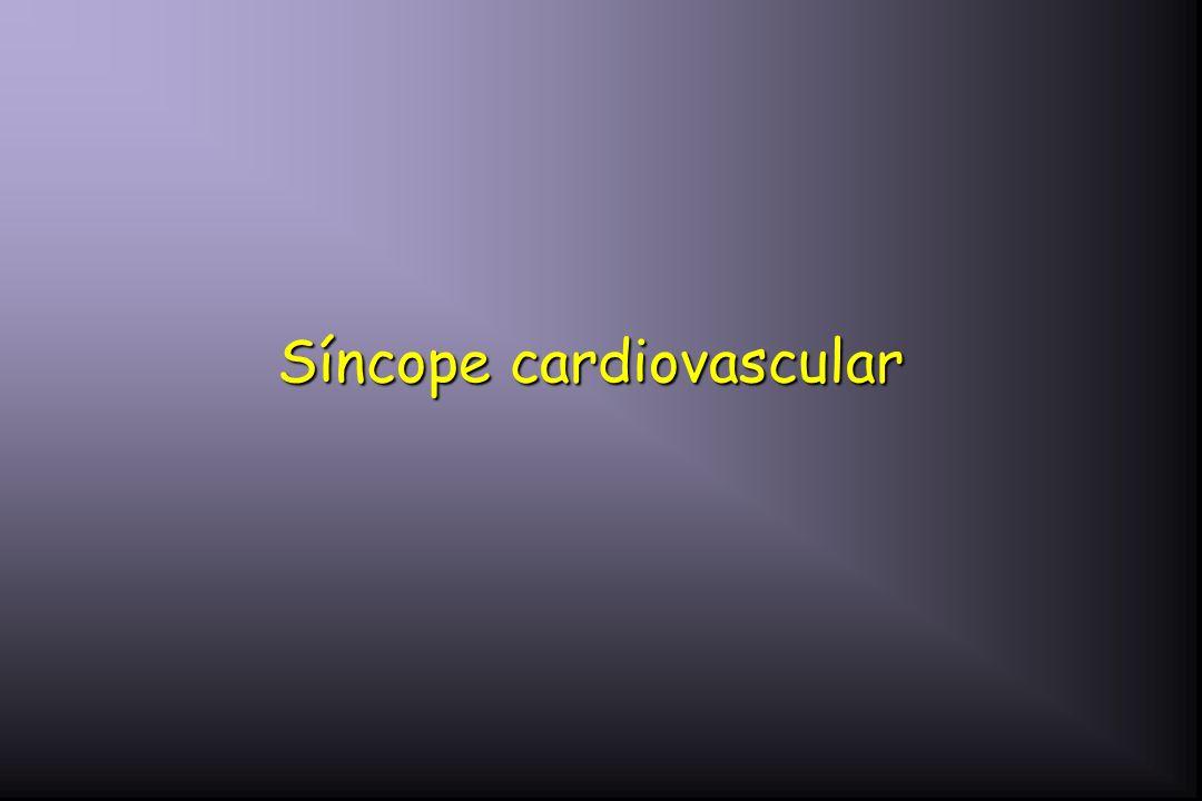 Síncope cardiovascular