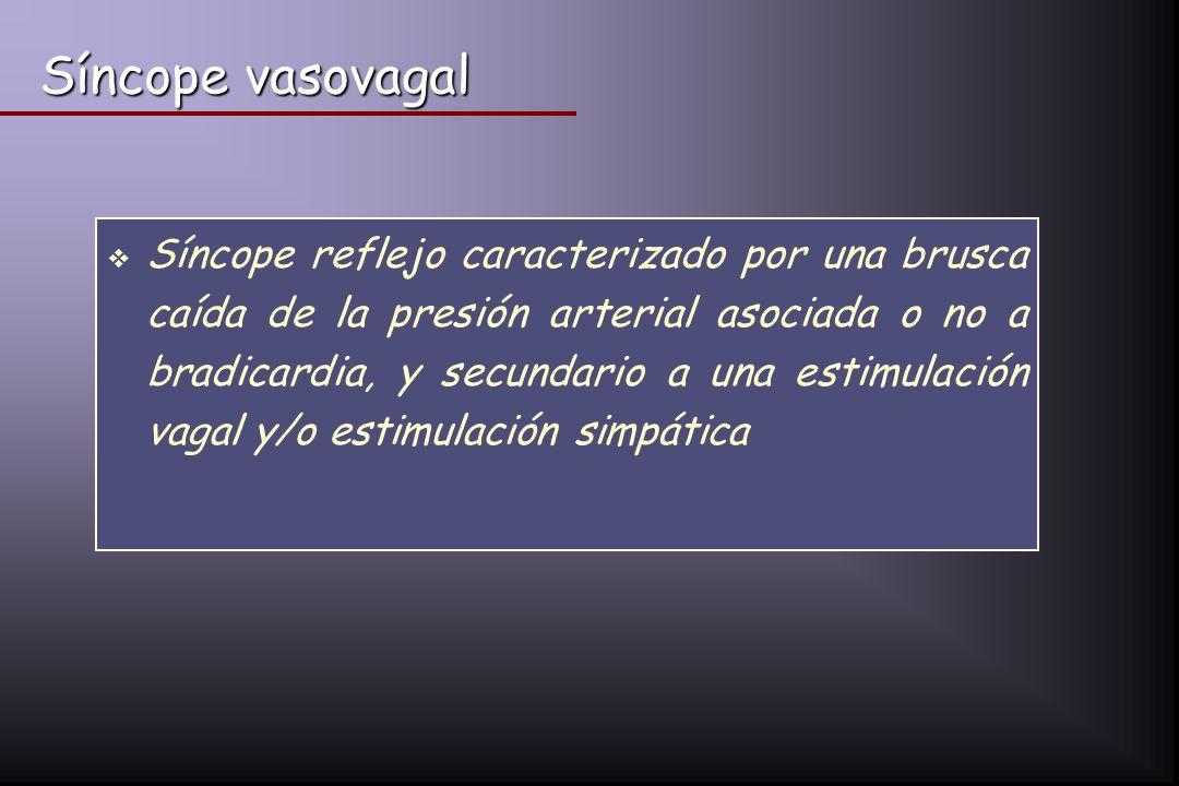 Síncope vasovagal