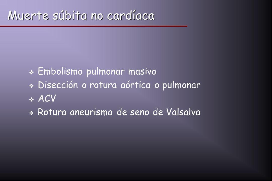 Muerte súbita no cardíaca