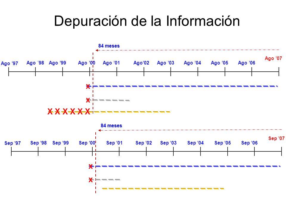 Depuración de la Información