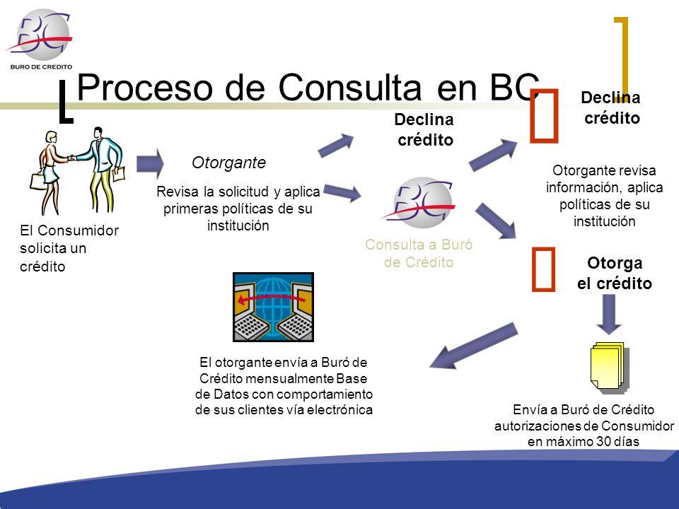 Proceso de Consulta en BC