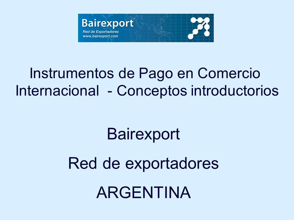 Bairexport Red de exportadores ARGENTINA