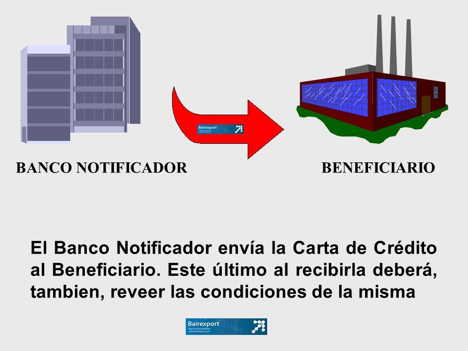 BANCO NOTIFICADOR BENEFICIARIO