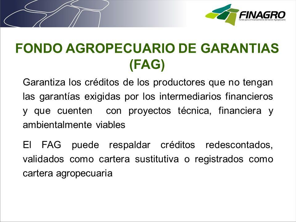 FONDO AGROPECUARIO DE GARANTIAS (FAG)