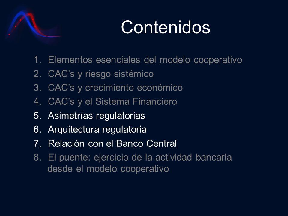 Contenidos Elementos esenciales del modelo cooperativo