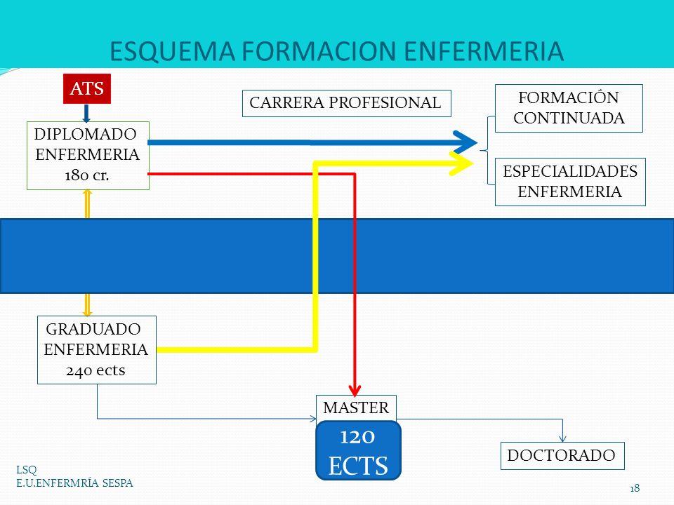 ESQUEMA FORMACION ENFERMERIA