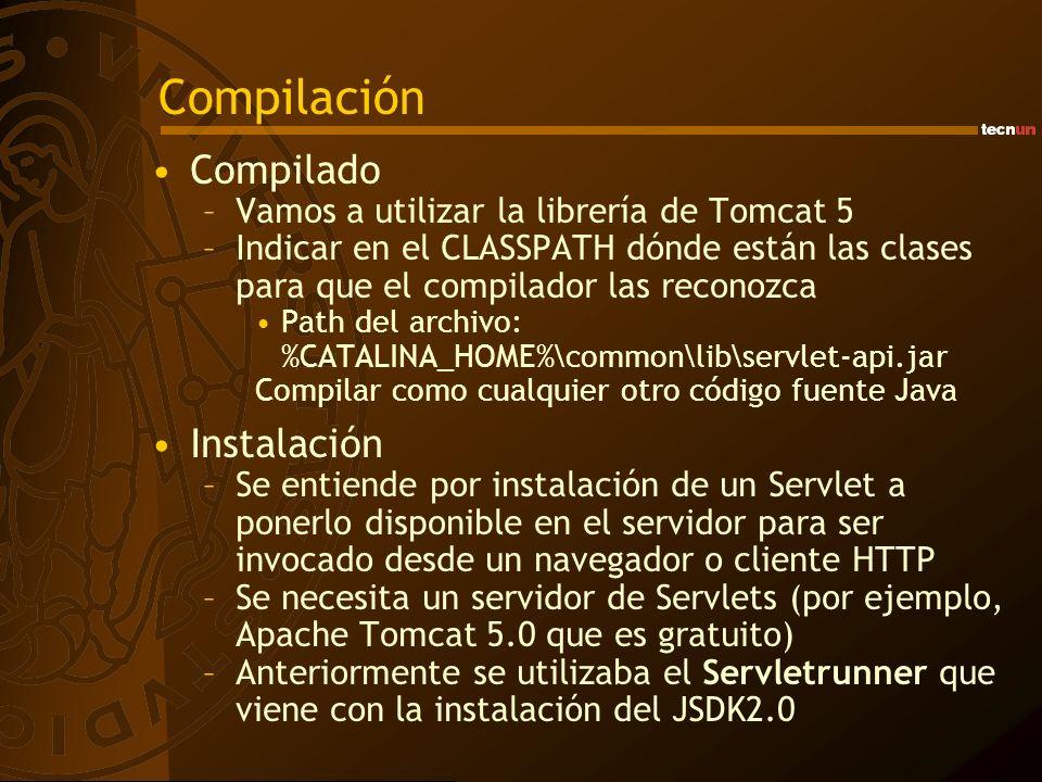 Compilación Compilado Instalación