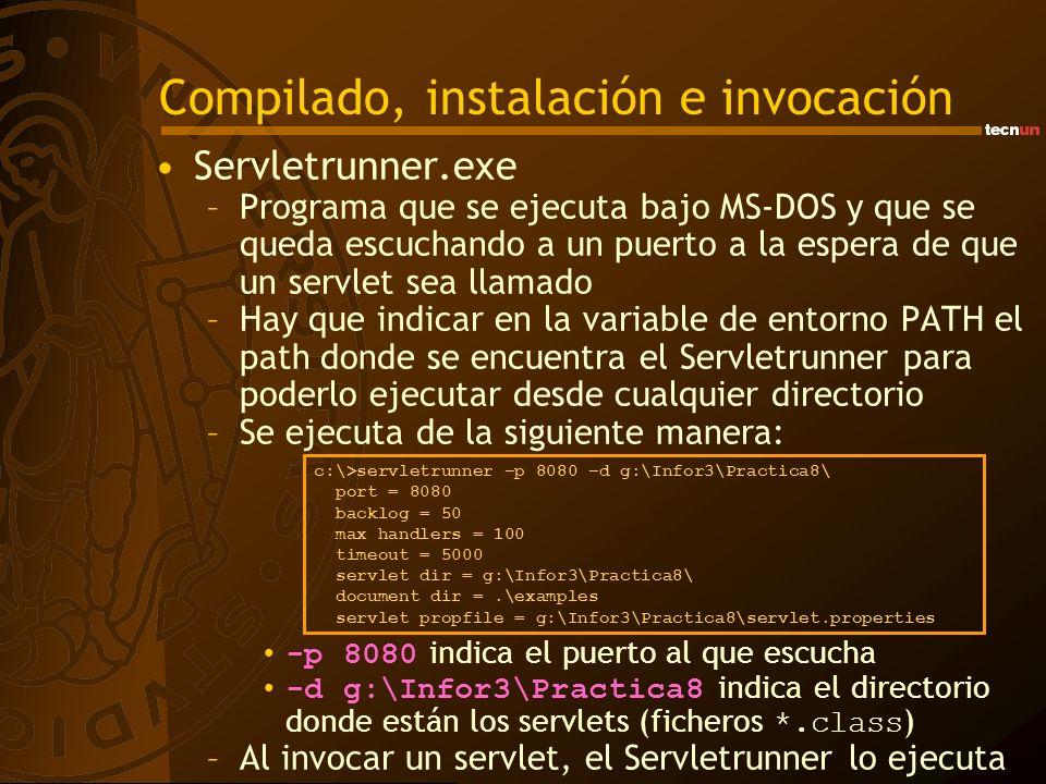 Compilado, instalación e invocación