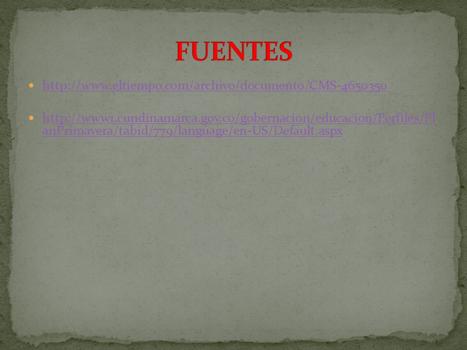 FUENTES http://www.eltiempo.com/archivo/documento/CMS-4650350