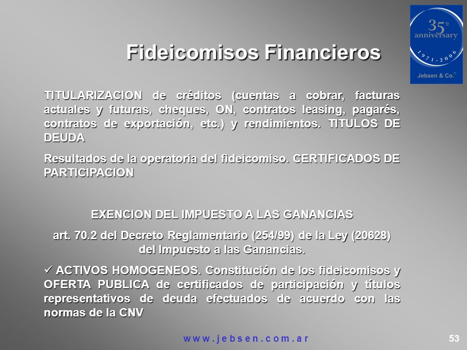 Fideicomisos Financieros