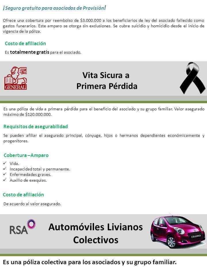 Automóviles Livianos Colectivos