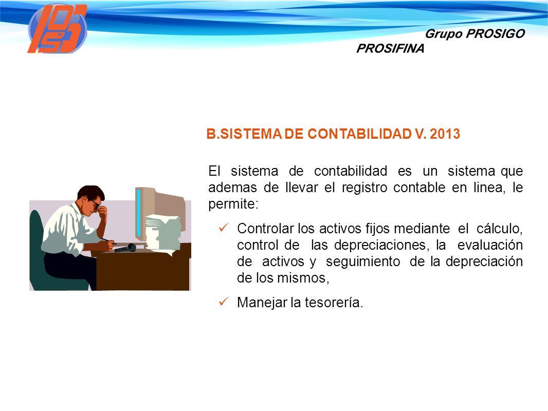 SISTEMA DE CONTABILIDAD V. 2013