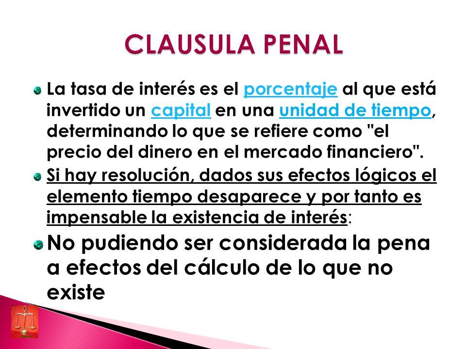 CLAUSULA PENAL