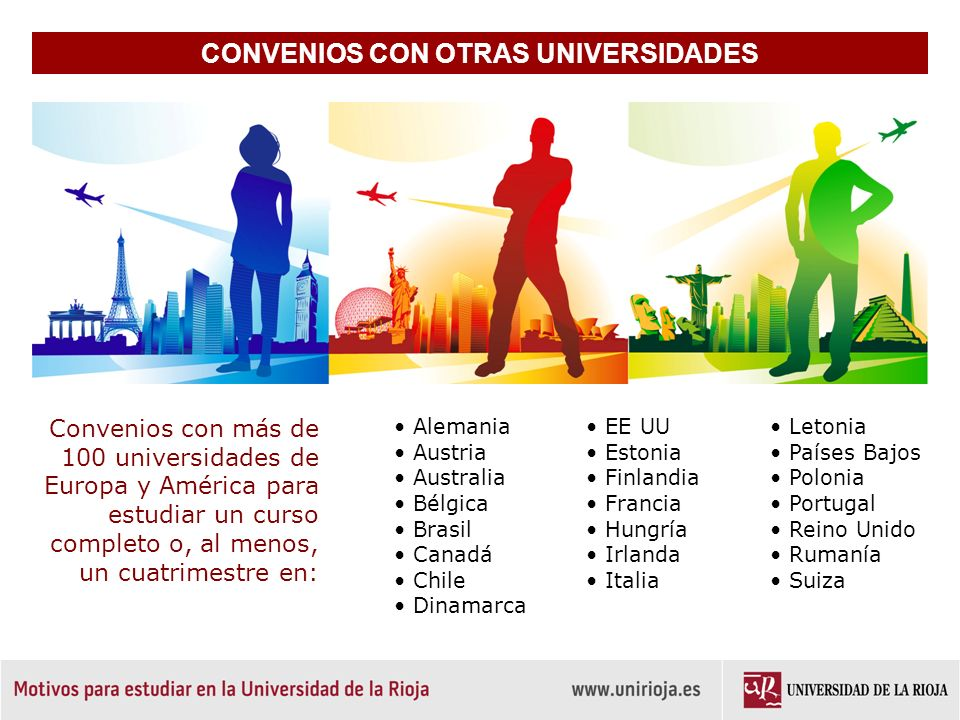 CONVENIOS CON OTRAS UNIVERSIDADES
