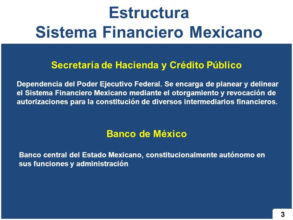 Estructura Sistema Financiero Mexicano