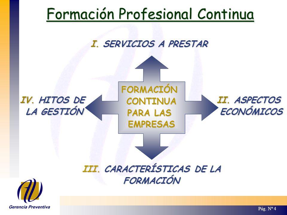 III. CARACTERÍSTICAS DE LA
