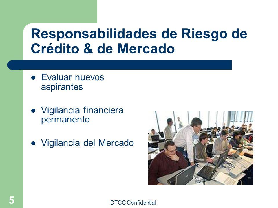 Responsabilidades de Riesgo de Crédito & de Mercado