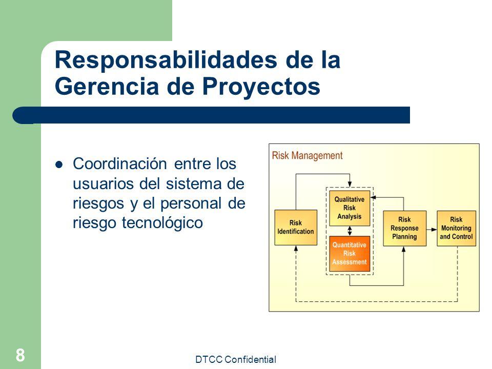 Responsabilidades de la Gerencia de Proyectos
