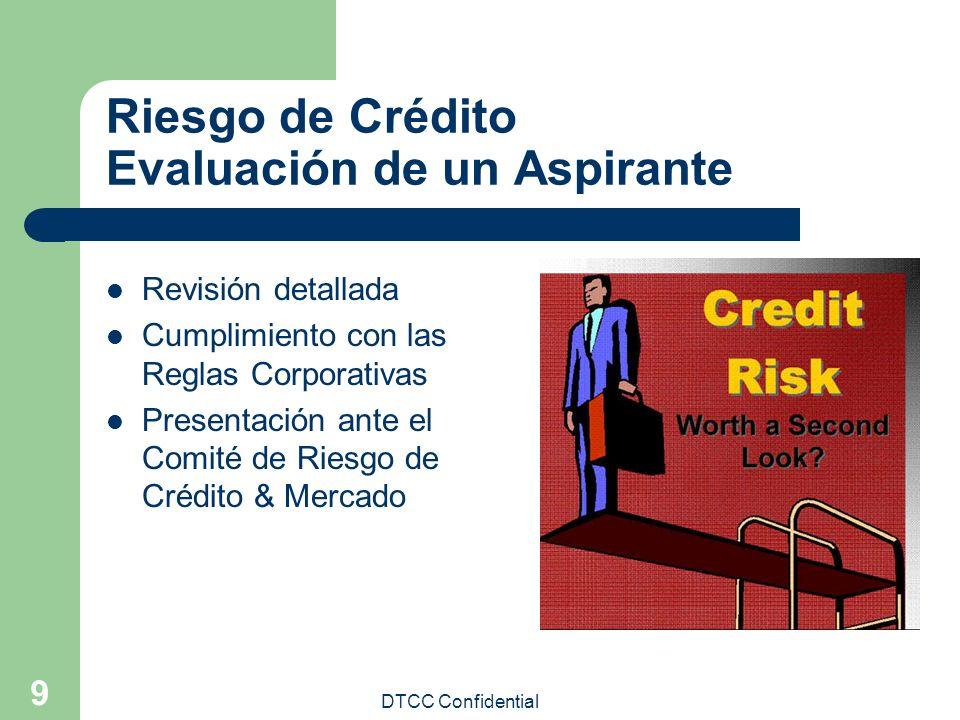 Riesgo de Crédito Evaluación de un Aspirante