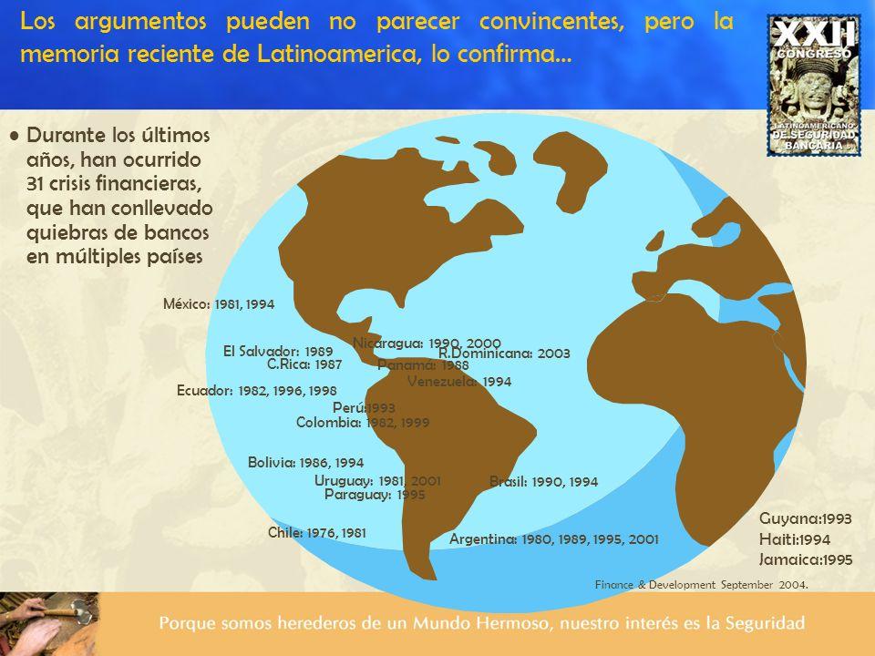 Los argumentos pueden no parecer convincentes, pero la memoria reciente de Latinoamerica, lo confirma…