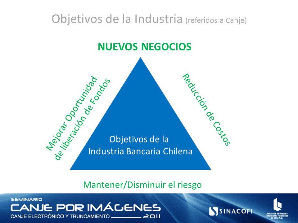 Objetivos de la Industria (referidos a Canje)