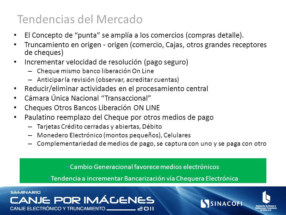 Tendencias del Mercado