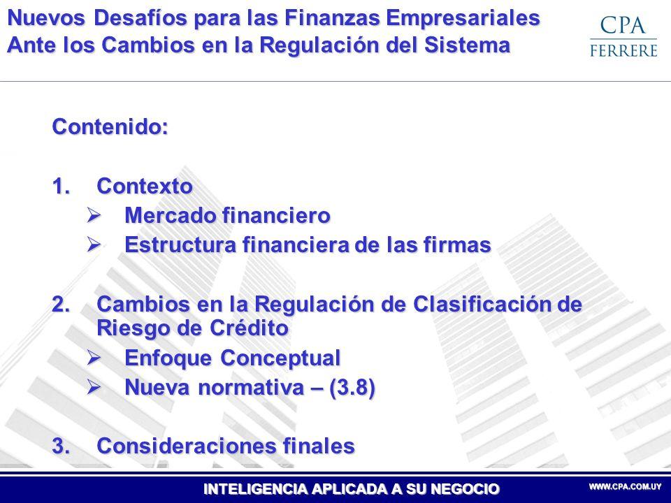 Nuevos Desafíos para las Finanzas Empresariales