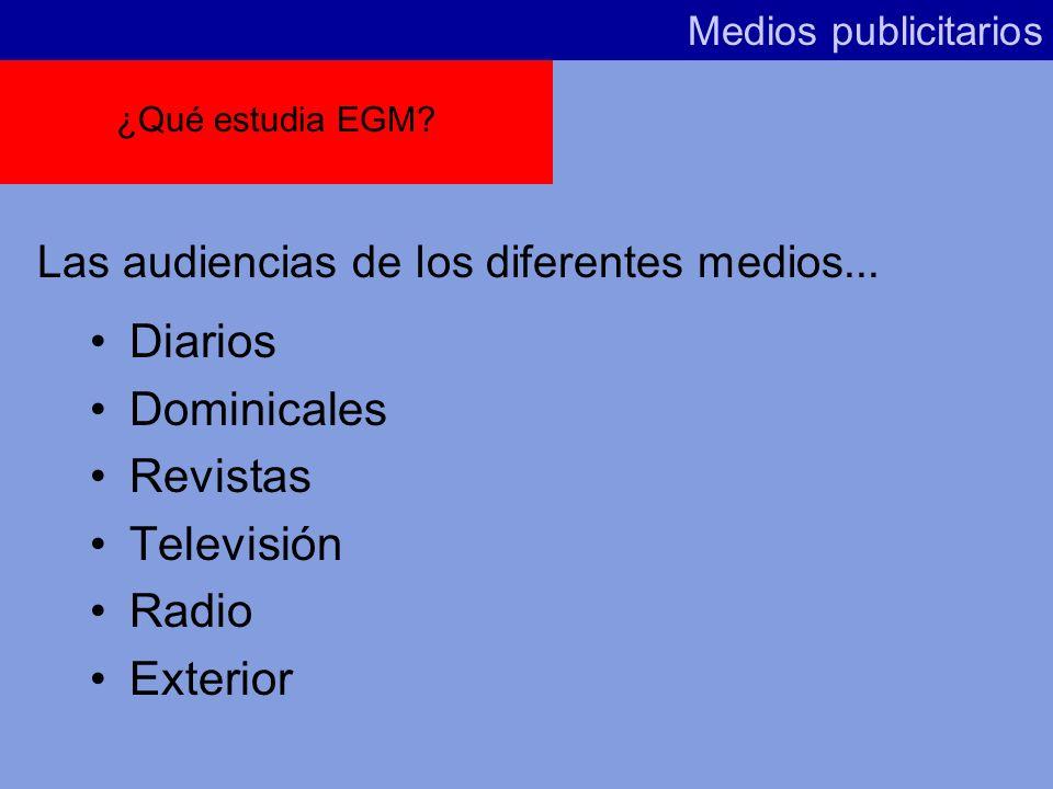 Diarios Dominicales Revistas Televisión Radio Exterior