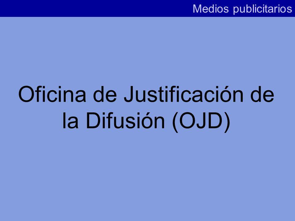 Oficina de Justificación de la Difusión (OJD)