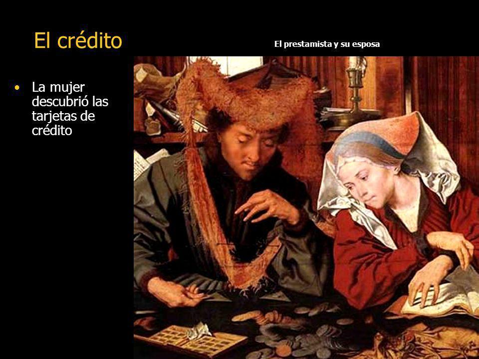 El prestamista y su esposa
