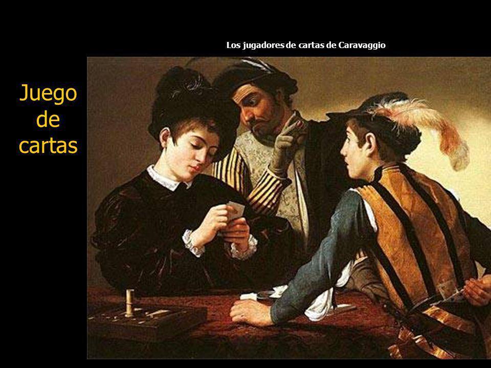 Los jugadores de cartas de Caravaggio