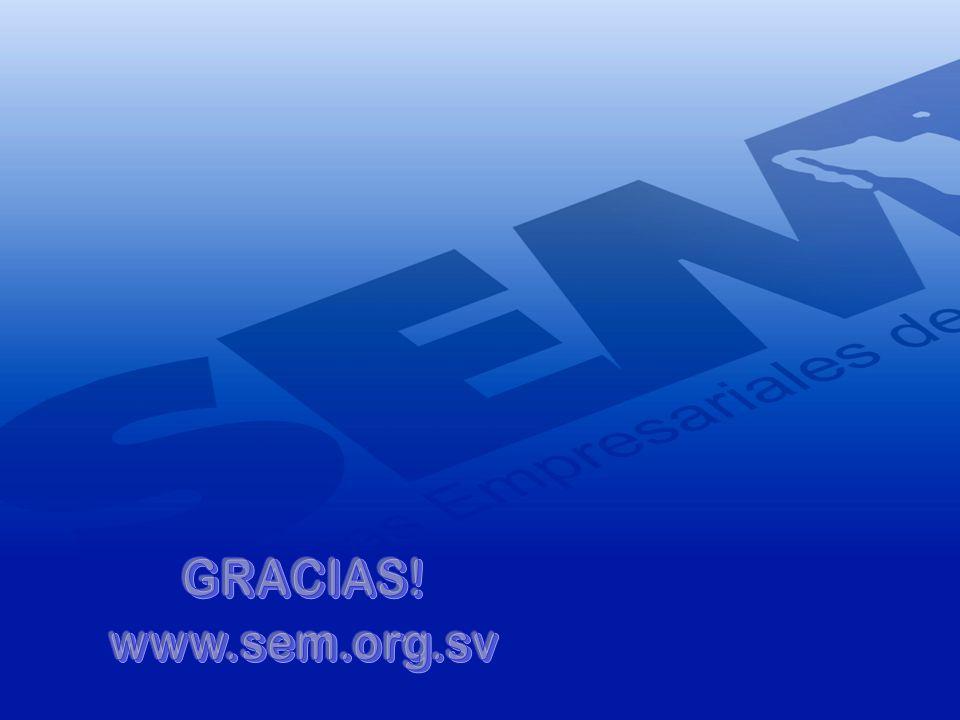 GRACIAS! www.sem.org.sv