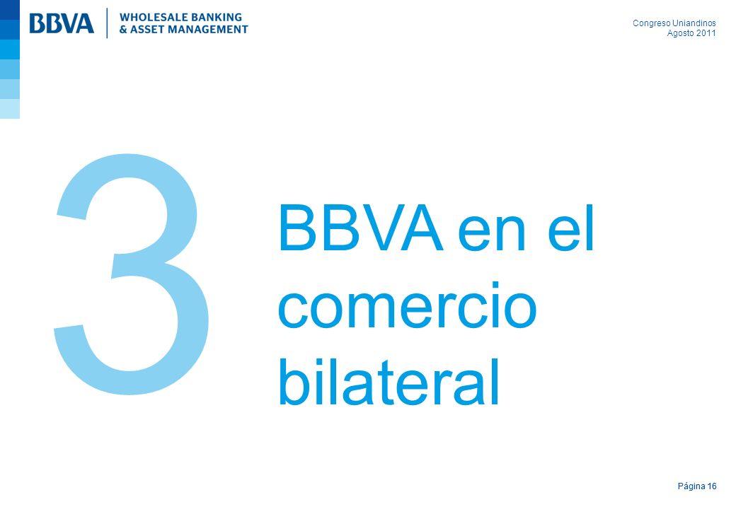 3 BBVA en el comercio bilateral Página 16