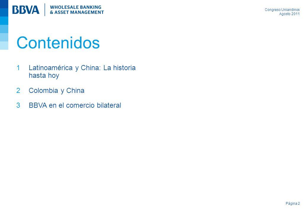 Contenidos Latinoamérica y China: La historia hasta hoy