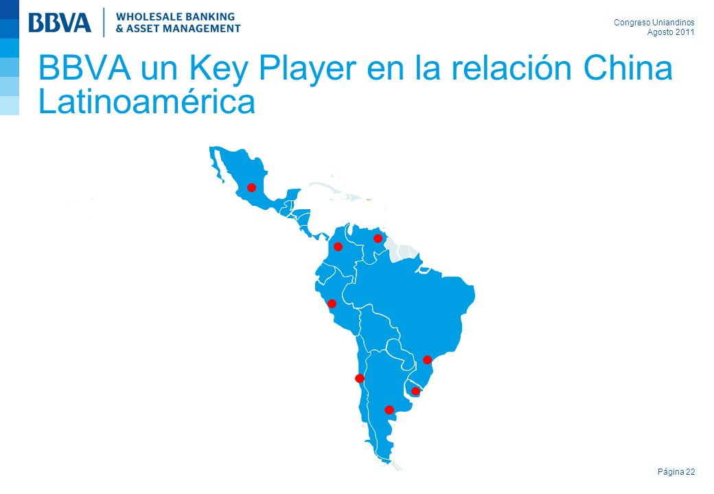 BBVA un Key Player en la relación China Latinoamérica