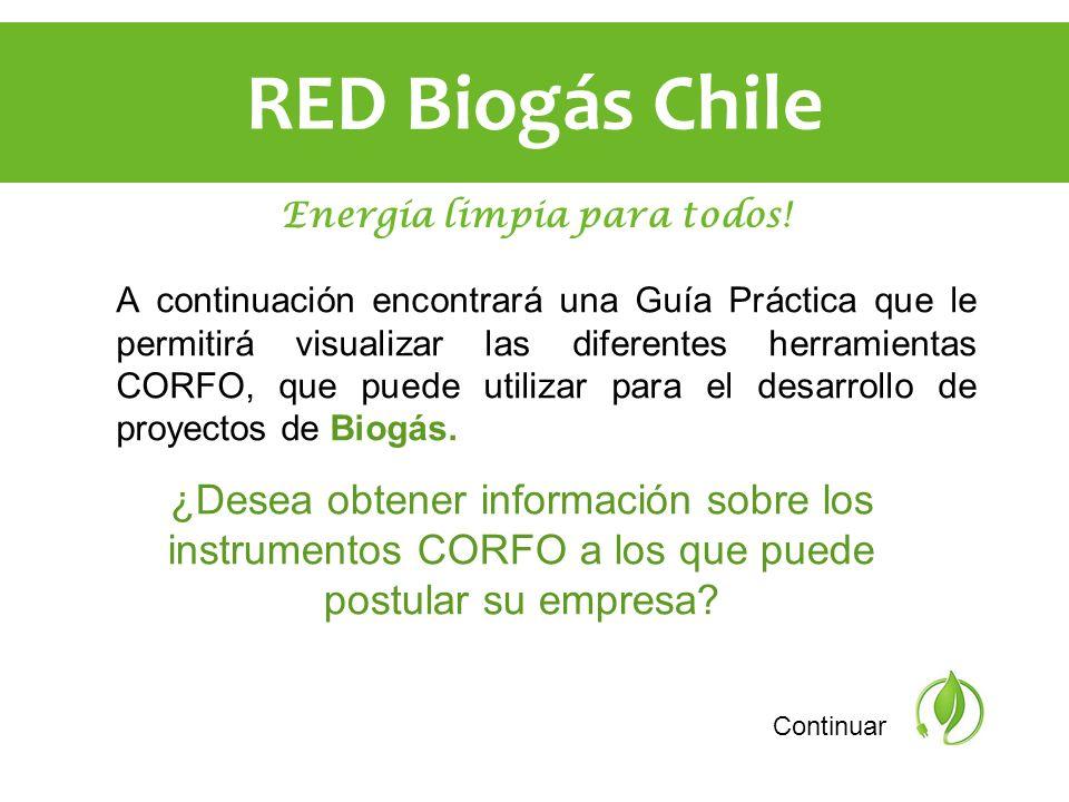 RED Biogás Chile Energía limpia para todos!