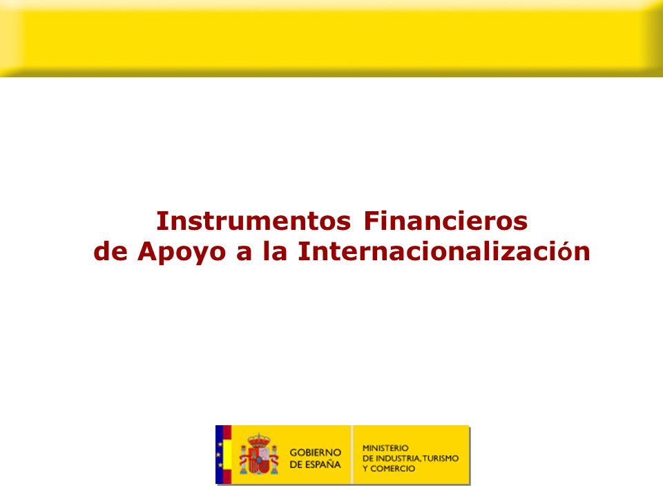Instrumentos Financieros de Apoyo a la Internacionalización