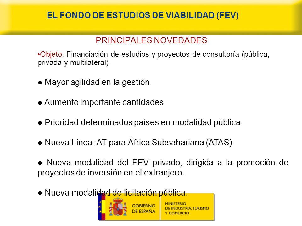 EL FONDO DE ESTUDIOS DE VIABILIDAD (FEV)