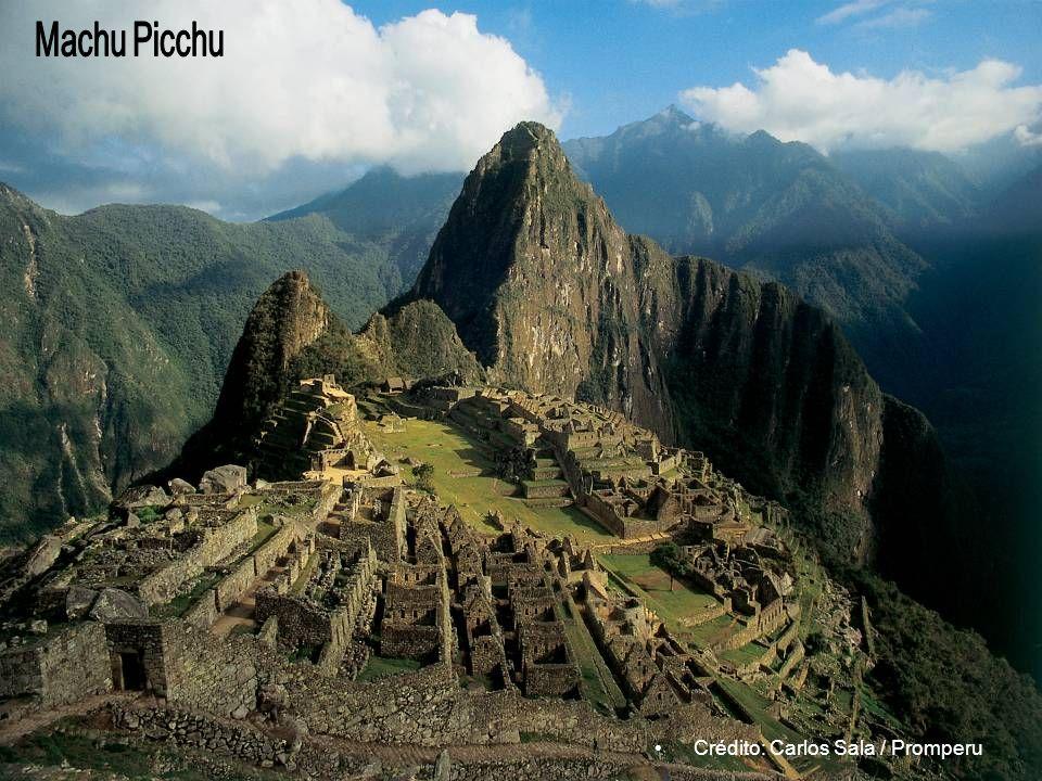 Machu Picchu Crédito: Carlos Sala / Promperu